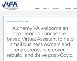 Virtual Assistant Chorley